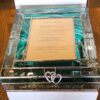 WEDDING GLASS BOX