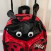 LADY BUG BACKPACK WITH WHEELS