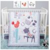 Farmstead Friends 4 Piece Crib Bedding Set