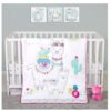 Llama Mama 4 Piece Crib Bedding Set