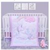 Sweet Unicorn 4 Piece Crib Bedding Set