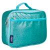 Blue Glitter Lunch Box