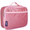 Pink Glitter Lunch Box
