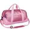 Pink Glitter Overnighter Duffel Bag