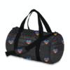 Multi HEART Puffer DUFFEL Bag