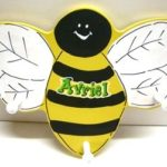 Clothes Hanger Bee
