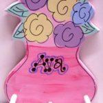 Clothes Hanger  Flowers