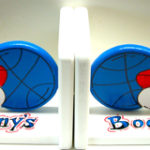 Wood Bookends  Sports
