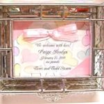 Glass Invitation Box